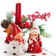 Christmas candle — Stock Photo #34601433