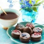 Coffee and chocolates — Stock Photo #45694215