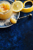 Lemon curd — Stock Photo
