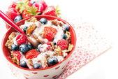 Colazione cereali sani — Foto Stock