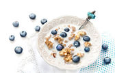 Crunchy muesli — Stock Photo