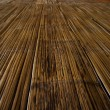 Traditional bamboo flooring — Stock Photo