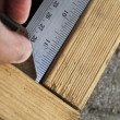 Measuring right angle — Stock Photo #25390585