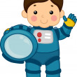 Astronaut Boy — Stock Photo #12583964