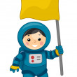 Постер, плакат: Astronaut Boy