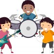 Stock Photo: Kiddie Band