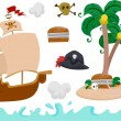 Pirate Elements - Stock Photo