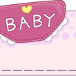 Baby Card Design - Stok fotoraf
