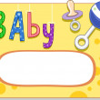 Baby Card Design — Stock Photo #12584401