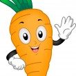 Carrot Mascot - Stock Photo