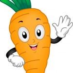 Carrot Mascot — Stock Photo #12584419