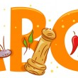 Spices Alphabet -  