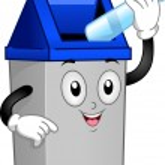 Trash Can Mascot — Stock Photo #12584506