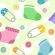 Baby Products Background — Stock Photo