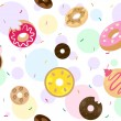 Doughnuts Background — Photo