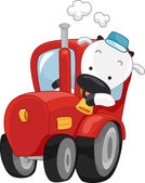 Cow Truck — Stock Photo