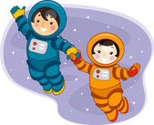 Space Kids — Stock Photo