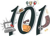 Blogging 101 — Zdjęcie stockowe