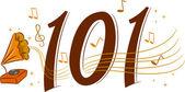 Retro Music 101 — Stock Photo