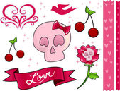 Skeleton Love — Stock Photo