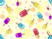 Popsicle Background — Stock Photo