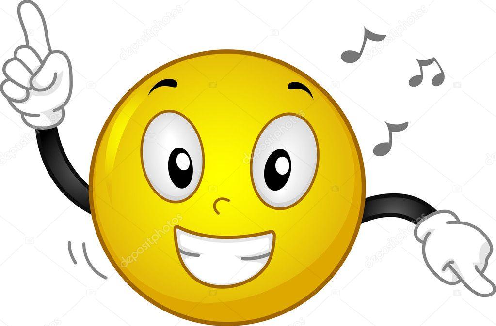 Dancing smiley emoticon