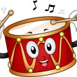 Stock Photo: Drum Mascot