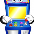 Arcade Game Mascot — Stock Photo #13488108