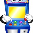 Arcade Game Mascot — Stock Photo