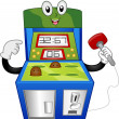 Whack-a-Mole Mascot — Stock Photo