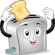 Stock Photo: Toaster Mascot
