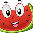Stock Photo: Watermelon Mascot