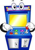 Arcade Game Mascot — Stock Photo
