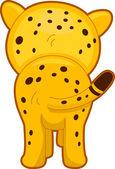 Gepard zpět prohlédni — Stock fotografie
