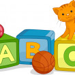 Alphabet Learning Blocks — Stock Photo #13604748