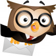 Messenger Owl - Stock Photo