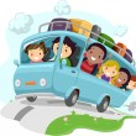 Постер, плакат: Road Trip Kids