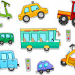 Stock Photo: Land Vehicles Stickers