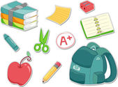 Education Sticker — Stockfoto