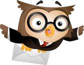 Messenger Owl — Stock Photo