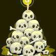 Royalty-Free Stock Photo: Stack of Skulls