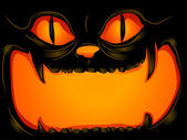 Halloween Cat Background — Stockfoto