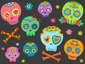 Sugar Skulls — Stock Photo