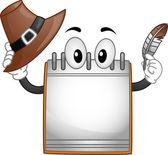 Calendar Mascot — Stock Photo