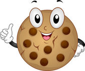 Cookie Mascot — Stock Photo