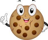 Cookie Mascot — Stock Photo