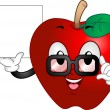 Apple Mascot — Stockfoto