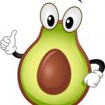Постер, плакат: Avocado Mascot