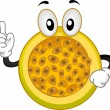 Royalty-Free Stock Photo: Passion Fruit Mascot