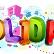 Holidays Design — Stock Photo